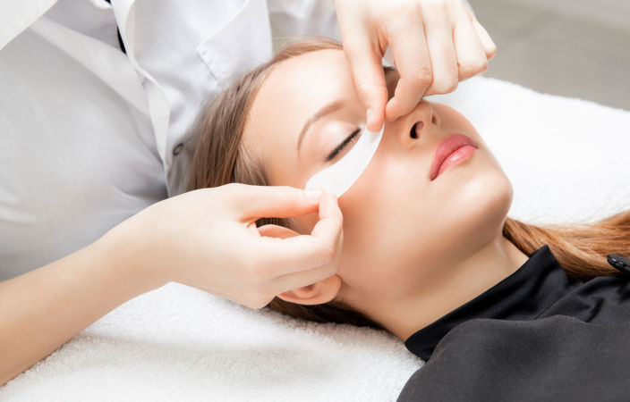 Wimpernwelle / Wimpernlifting